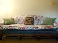 BOTH the sofa and the love-seat is in great condition.