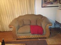 These two couches are very nice and in great condition.