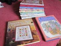 10 Cross Stitch books in perfect condition. Eight are