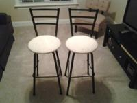 2 barstool & dinettes barstools for sale $75 each.