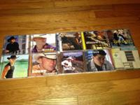Have country CDs for sale. All are in cases and in
