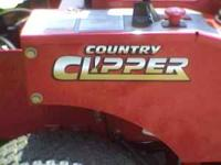 WE ARE A COUNTRY CLIPPER MOWER DEALER!!! HAVE ONLY ONE