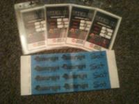 For sale are 4 country life music celebration tickets