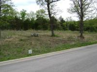 Beautiful building lot in Country Ridge Estates in