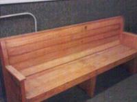 Country Style 7 1/2 ft. long Church Pew ~ This pew came