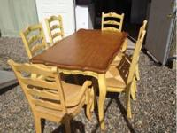 Country style kitchen / dining table 3' x 5' table 2