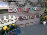 Handmade wood signs, furniture, grapevine wreaths, home