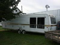 We have a Country Aire,36 foot 5th wheel camper for