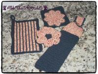 Integrate beautiful crochet design with functional