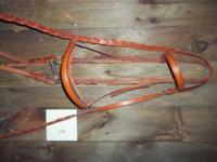 Like new Courbette bridle.  Location: Chillicothe