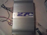 Coustic Amp-270 Watt Dynamic Power Car Amplifier 2