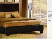 The stylish Copley PLATFORM BED frame is elegantly