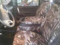 Custom fit truck seat covers by Coverking. They are the