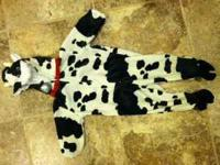 Baby Cow Halloween Costume. Size 18 months. Super soft