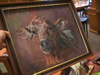 Cow Painting   Get there 1st and check it out for