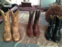 A multitude of boots available. All leather, reputable
