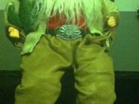 Sitting Cowboy Santa  Would be great for a Fireplace