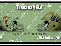 COWBOY SHOWDOWN    TEXAS LONGHORNS VS UCLA BRUINS   SEP