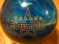 This bowling ball have a really nice engraving on both