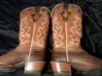 Size 10B Cowgirl boots. Worn once. Bought 3 months ago.