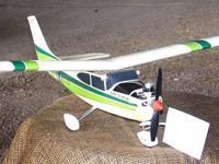Cox 049 Cessna Skylane 182 R/C Airplane RTF Includes