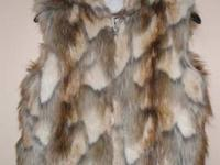 NEW one-of-a-kind stylish cozy Coyote Hooded