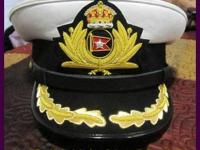 "Titanic Ship Captain ""SMITH"" Black Uniform Hat. Price:"