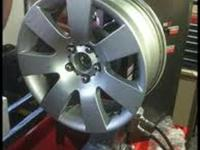 CRACKED OR BENT ALLOY WHEEL REPAIR   WHEELS CAN BE
