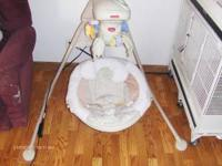 I have a cradle swing that I no longer need. It just