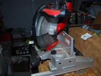 Craftsman Professional 12in Compound Miter Saw -