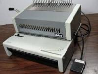 Paper cutter-$50.00 Renz Wire Binder with 200