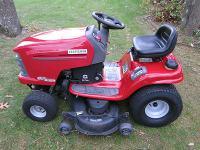 "Craftsman 48"" DLT 2000 Deluxe Lawn Tractor model #"