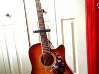This is my beautiful acoustic crafter, she has a built