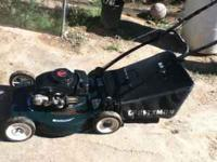craftman mower asking $50 runs good, 3.5hp engine, good