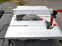 Ive utilized this table saw for a couple of home tasks.
