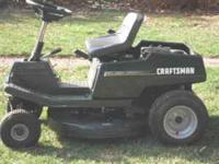 Up for sale is a craftmans 13.5hp rear engine riding