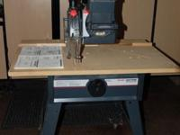 Craftsman Radial Saw with guard kit, table top, and