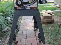 "10"" table saw, Sears Craftsman approx 1979-80 model"