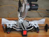 "CRAFTSMAN 10"" MITER-MATE MITER SAW WITH LASER TRAC."