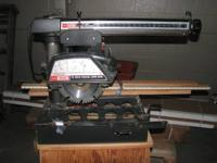LITELY USED CRAFTSMAN 10' RADIAL ARM SAW MODEL