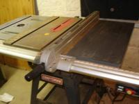 This value packed deal consists of a Table saw with