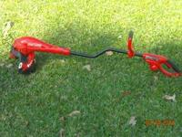 "Craftsman Electric 15"" Weedeater-Trimmer. 1-year old."