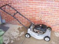 "Great deal on Craftsman 20"" 4 HP Push Mower, works"