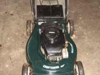 "10 yr old Craftsman 20"" 4HP Lawnmower model number"