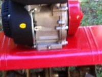 Craftsman 208cc Front tine tiller. Heavy duty chain