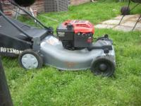 "CRAFTSMAN 22"" 6.0HP SELF-PROPELLED LAWN MOWER ~IN GOOD"