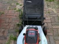 "Specialist 22"" Lawn Mower With Bag Eager 1 Super Pull"