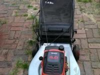 "Craftsman 22"" Lawn Mower With Bag Eager 1 Super Pull"