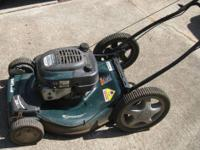 "This Craftsman 22"" Lawnmower has Self-Propelled Front"