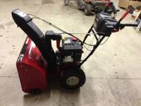 Craftsman 26'' 208cc Dual-Stage Snow Blower Like